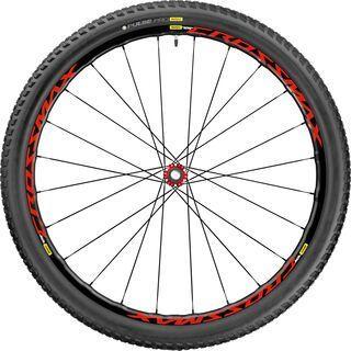 Mavic Crossmax Elite 27.5, black-red - Vorderrad