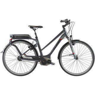 Cube Travel Hybrid Pro Lady 2014, anthrazit/black/white/red - E-Bike