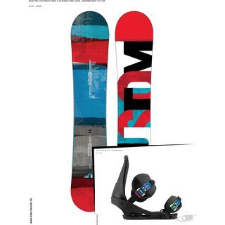 Set: Burton Custom Flying V  +  Infidel (493941S)
