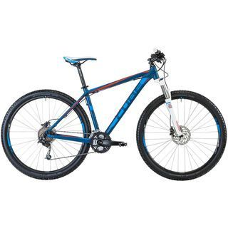 Cube Analog 29 2013, blue red - Mountainbike