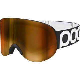 POC Lid, uranium black/Lens: pink gold mirror - Skibrille