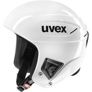 uvex race +, all white - Skihelm