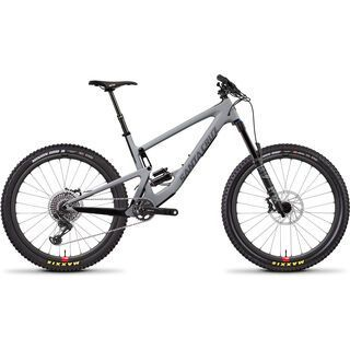 Santa Cruz Bronson CC X01 Reserve 2019, grey/silver - Mountainbike