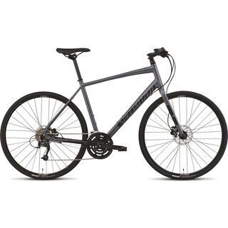 Specialized Sirrus Sport Disc 2015, Satin Graphite/Black/Sterling - Fitnessbike