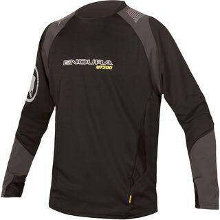 Endura MT500 Burner L/S Jersey, schwarz - Radtrikot