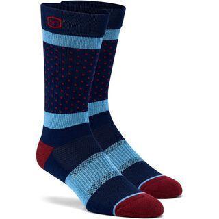 100% Opposition Socks, navy - Radsocken