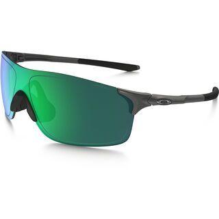 Oakley EVZero Pitch, steel/Lens: jade iridium - Sportbrille