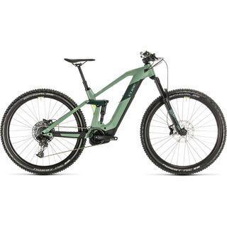 *** 2. Wahl *** Cube Stereo Hybrid 140 HPC Race 625 29 2020, green´n´sharpgreen - E-Bike | Größe 16 Zoll