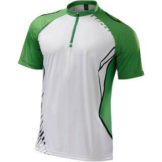 Specialized Atlas XC Pro Jersey, white/green - Radtrikot
