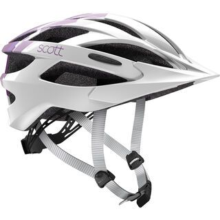 Scott Watu Contessa, white purple - Fahrradhelm