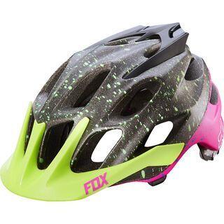 Fox Flux Helmet, flight black/pink - Fahrradhelm
