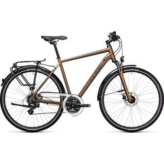 Cube Touring Pro 2017, havanna brown´n´orange - Trekkingrad
