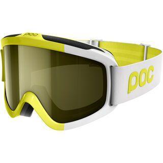 POC Iris Comp inkl. Wechselscheibe, yellow/Lens: smokey yellow - Skibrille