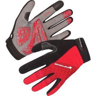 Endura Hummvee Plus Glove, rot - Fahrradhandschuhe