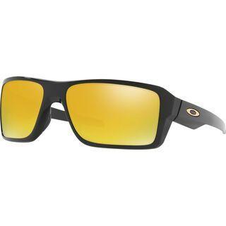 Oakley Double Edge, polished black/Lens: 24k iridium - Sonnenbrille