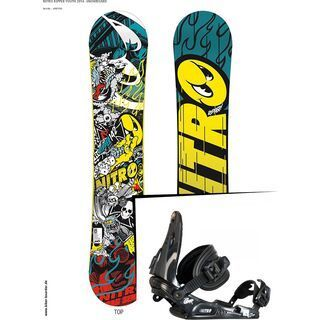 Set: Nitro Ripper Youth  +  Charger (476815S)