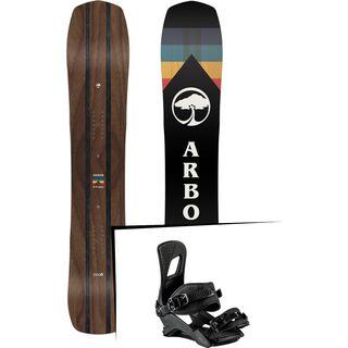 Set: Arbor A-Frame 2019 + Nitro Rambler blackout