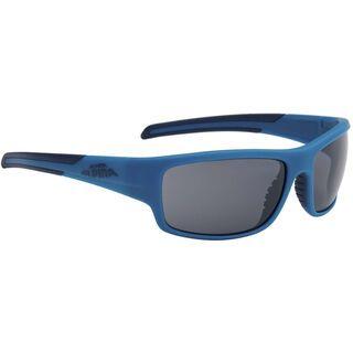 Alpina Testido, blue matt-dark blue/black mirror - Sonnenbrille
