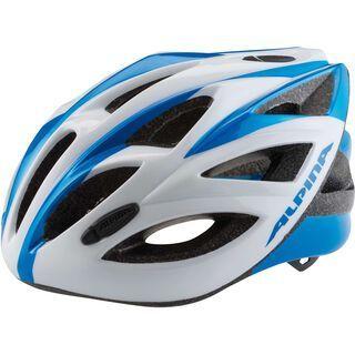 Alpina Vector, white-blue - Fahrradhelm