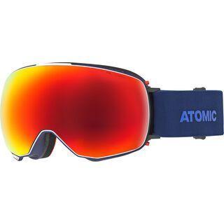Atomic Revent Q Stereo + WS, blue/Lens: red stereo - Skibrille