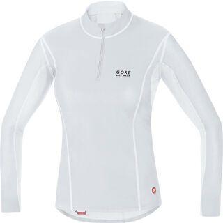 Gore Bike Wear Base Layer Windstopper Lady Turtleneck, light grey white - Unterhemd