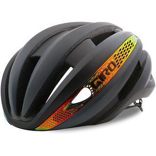 Giro Synthe MIPS, mat grey/firechrome - Fahrradhelm