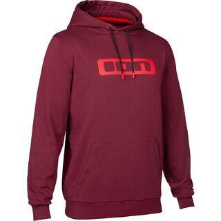 ION Hoody Logo, combat red