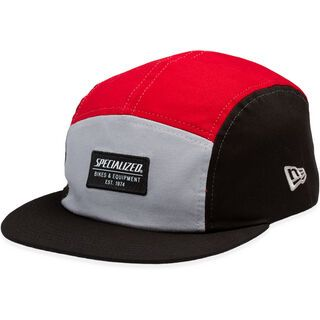 Specialized New Era 5 Panel Hat black/red