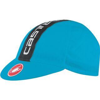 Castelli Retro 3 Cap, sky blue/black - Radmütze