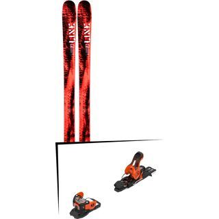 Set: Line Honey Badger 2019 + Salomon Warden 11 orange/black