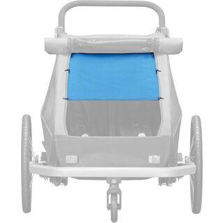 Croozer Sonnenschutz für Kid Plus / Kid for 2, ocean blue - Zubehör