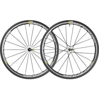 Mavic Ksyrium Elite, black-white - Laufradsatz