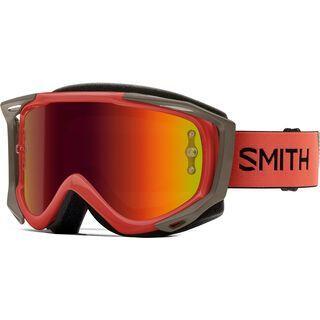 Smith Fuel V.2 inkl. WS, sage red rock/Lens: red mir - MX Brille