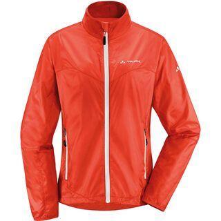 Vaude Women's Dyce Jacket, glowing red - Radjacke