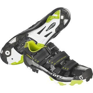 Scott MTB Comp Shoe, black/lime green gloss - MTB Schuhe