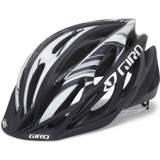 Giro Athlon, matte black/white - Fahrradhelm