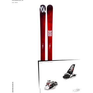 Völkl Set: Mantra 2014 + Marker Squire 11