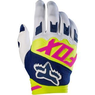 Fox Yth Dirtpaw Glove, navy/white - Fahrradhandschuhe