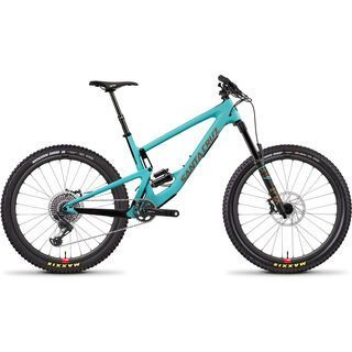 Santa Cruz Bronson CC X01 Reserve 2019, blue/gold - Mountainbike