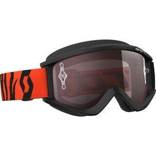 Scott Goggle Recoil Xi, black/fluo orange/Lens: silver chrome - MX Brille