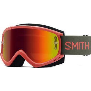 Smith Fuel V.1 inkl. WS, sage red rock/Lens: red mir - MX Brille