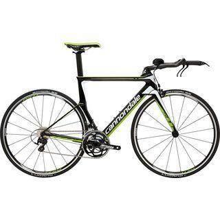 Cannondale Slice 105 2016, black/green/white - Triathlonrad