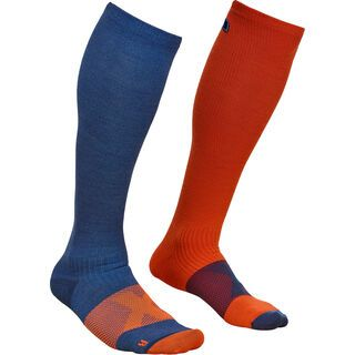Ortovox Merino Tour Compression Socks M night blue