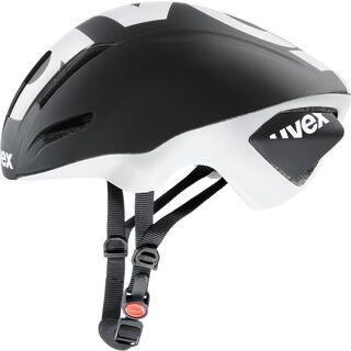 uvex EDAero, black-white mat - Fahrradhelm