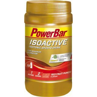 PowerBar Isoactive - Red Fruit Punch 600 g - Getränkepulver