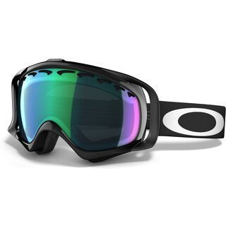 Oakley Crowbar, jet black/Lens: prizm jade iridium - Skibrille