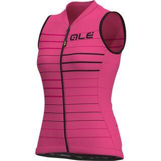 Ale Ergo Lady S/Less Jersey, fluo pink - Radtrikot