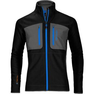 Ortovox Merino Tec-Fleece Jacket, black raven - Fleecejacke