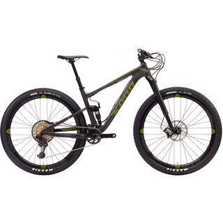 Kona Hei Hei Supreme 2017, carbon/green - Mountainbike