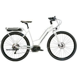 Cannondale Mavaro Active 3 Women 2016, white - E-Bike